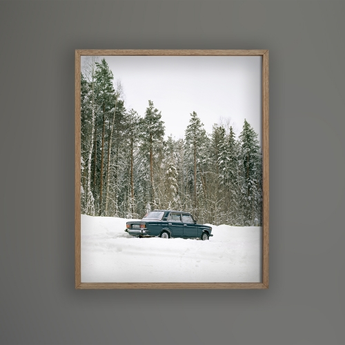FRAMED PRINT Gennady's car